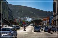 Streetview of Cape Town at the Western Cape in South Africa